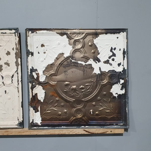 Vintage Tin Ceiling Tile #102