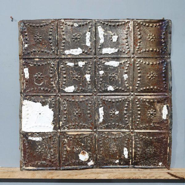 Vintage Tin Tile #117