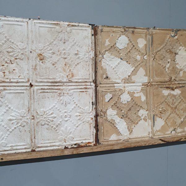 Vintage Tin Tile #118