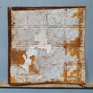Vintage Tin Tile #122